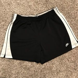 Black Nike Work Out Shorts